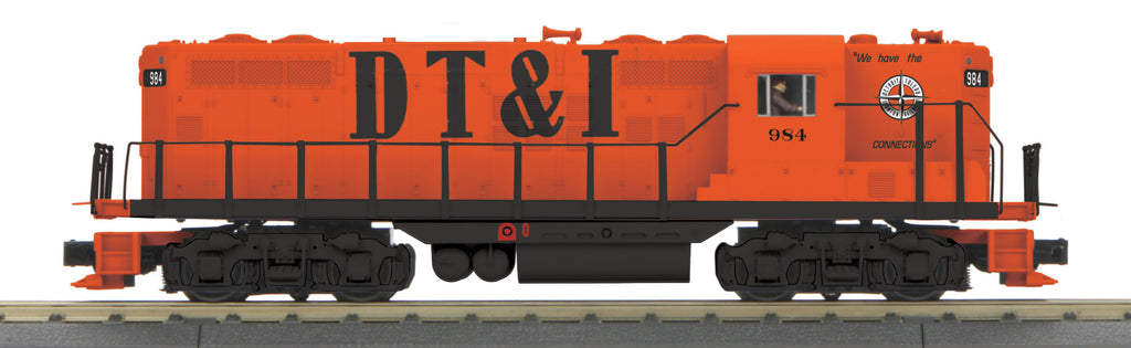 MTH 30-203061 O Detroit Toledo & Ironton EMD GP-9 Diesel Engine #984 w/PS3 #984
