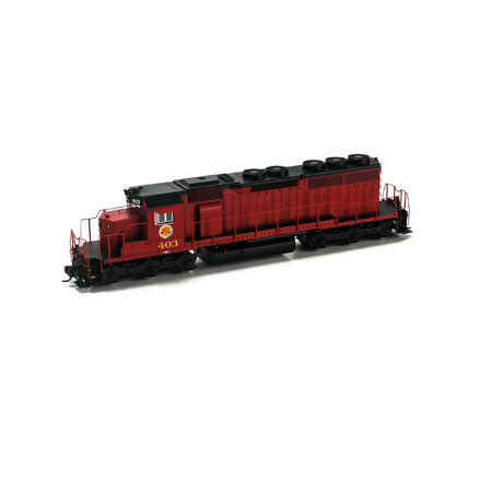 Athearn 98853 HO CGW SD40 Diesel Engine with DCC & Sound RTR #403