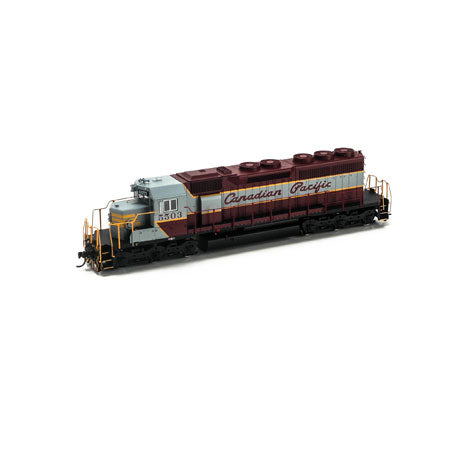 Athearn 98861 HO Canadian Pacific SD40 Diesel Engine with DCC & Sound RTR #5503