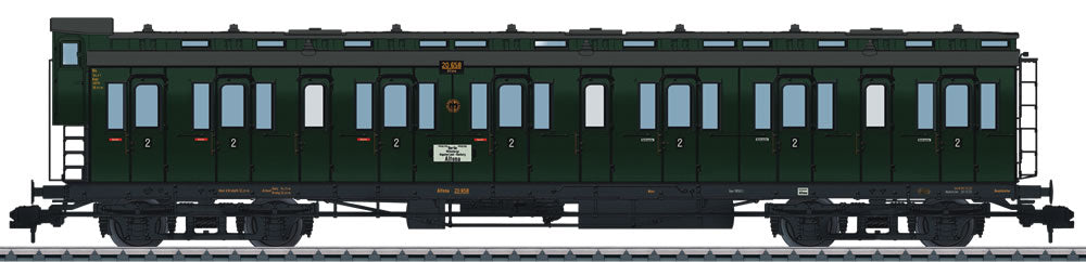 Marklin 58082 1 German State Railroad Company Type B4 Pr 04 Compartment Car
