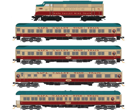 MicroTrains 99301430 N Napa Valley Wine Set
