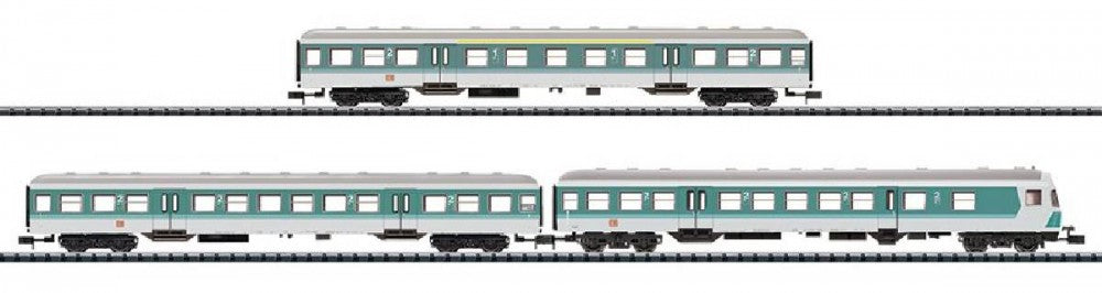 "Trix 15392 N Deutsche Bahn AG Car Set ""Regional Express"" (3)"