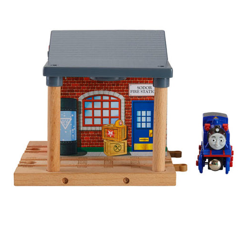 Fisher Price BDG53 Thomas & Friends™ Wooden Railway Sodor Fire Station