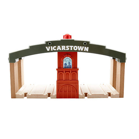 Fisher Price DFW92 Thomas & Friends™ Wooden Railway Vicarstown Station Set