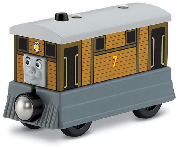 Fisher Price Y4081 Thomas & Friends™ Wooden Railway Toby the Tram Engine #7