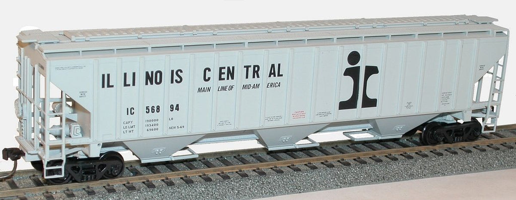 Accurail 6516 HO Pullman-Standard-4750 CuFt Grain Hoppers - Illinois Central #56894