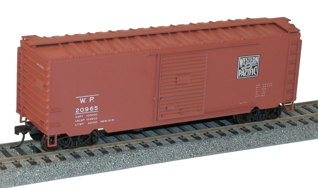 Accurail 80771 HO 40' Ps1 Boxcar Western Pacific Kit #20965