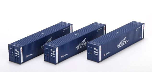 Athearn 28869 HO NYK Logistics 45' Container RTR (3)
