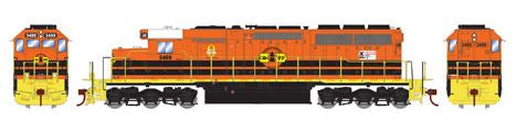 Athearn 98751 HO CORP SD40 Diesel Locomotive RTR #3499