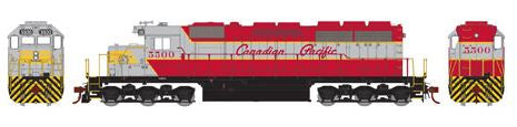 Athearn 98760 HO Canadian Pacific SD40 Diesel Engine RTR #5500
