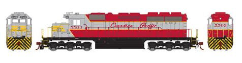 Athearn 98761 HO Canadian Pacific SD40 Diesel Engine RTR #5503