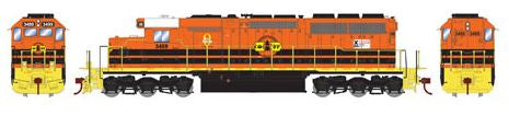 Athearn 98851 HO CORP SD40 Diesel Locomotive w/DCC & Sound RTR #3499