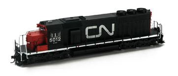 Athearn 98858 HO Canadian National SD40 Diesel Loco w/DCC & Sound RTR #5012