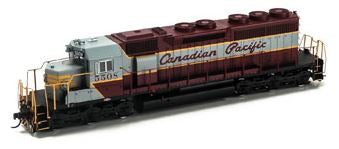 Athearn 98863 HO Canadian Pacific SD40 Diesel Engine with DCC & Sound RTR #5508