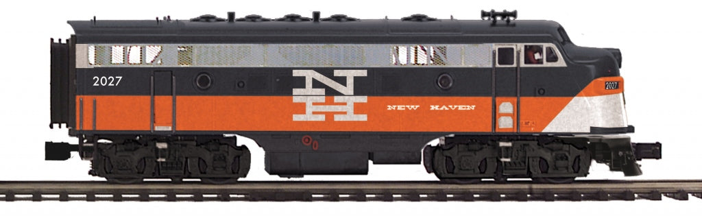 MTH 20-206074 O New Haven F-7 A Unit Non-Powered Diesel Engine (Hi-Rail Wheels)