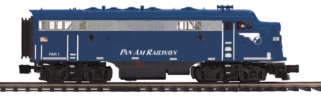 MTH 20-206091 O Pan Am Railways F-7 A Unit Dsl Engine w/PS3 (Hi-Rail Wheels) #1