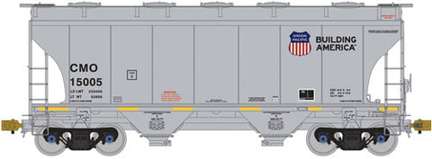 American Limited Models 1001 HO CMO 3281Cu.Ft. 2-Bay Covered Hopper #1500
