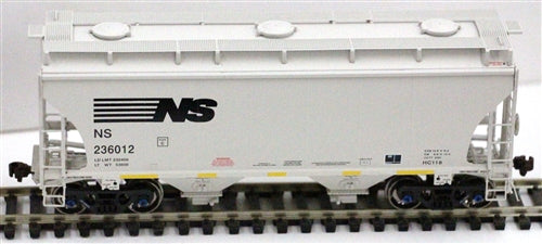 American Limited Models 1057 HO Norfolk Southern 2-Bay Covered Hoppr #236162