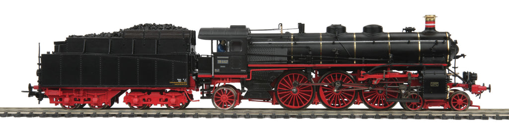 MTH 80-32185 HO Deutsche Bundesbahn Cl 18.4 Steam Loco w/PS3E+ (3-Rail)  #18 447