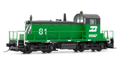 Arnold HN2252 N Burlington Northern EMD SW1 - Standard DC #81