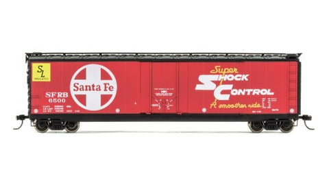 Rivarossi HR6337 HO Santa Fe Railroad SFRB Box Car Plug Door #6599