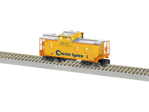 American Flyer 6-47982 S Chessie System Extended Vision Caboose LN/Box