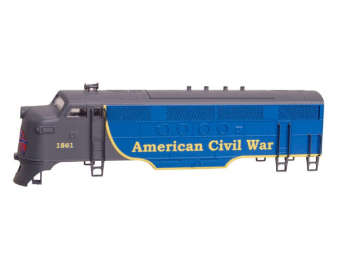 MicroTrains 98721671 N FT-A Diesel Locomotive (Shell Only) American Civil War