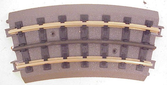 MTH 40-1022 RealTrax O31 Half Curved Track (Hollow Rails)