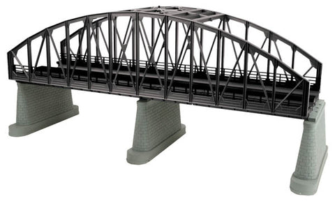 MTH 40-1111 O 2-Track Black Steel Arch Bridge