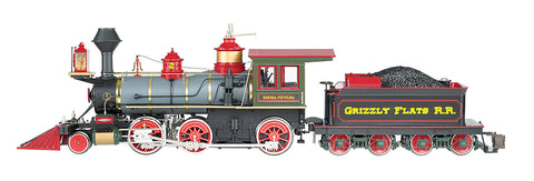 "Bachmann 81489 G Grizzly Flats ""Emma Nevada"" 2-6-0 Spectrum Steam Locomotive - Standard DC"