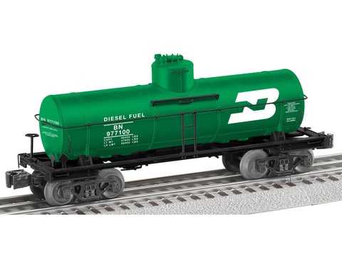 Lionel 6-81080 O Burlington Northern 8,000 Gallon Tank Car #977100