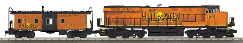 MTH 30-20359-1 O Halloween Diesel Engine with Caboose
