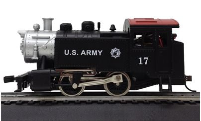 Model Power 965131 HO U.S. Army 0-4-0 Tank Switcher Steam Engine DCC with Sound & Remote