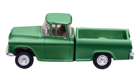 Woodland Scenics JP5610 N Green Pickup Lighted- Just Plug In