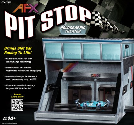 AFX 21070 1:87 Pit Stop Holographic Theater