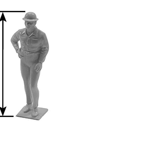 Plastruct 93313 G Male Standing Industrial Figures
