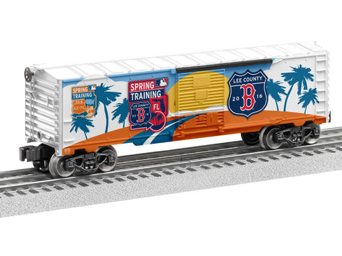 Lionel 6-83774 O Boston Red Sox 2016 MLB Spring Training Boxcar (BTO)