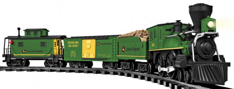 Lionel 7-11679 G John Deere Ready-To-Play Train Set