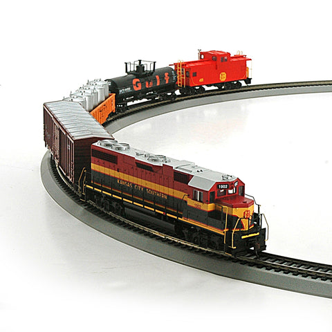 Athearn 14263 HO Kansas City Southern Iron Horse Train Set Diesel Locomotive