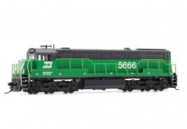 Arnold HN2317 N Burlington Northern U28C GE Diesel Locomotive DCC Ready #5666