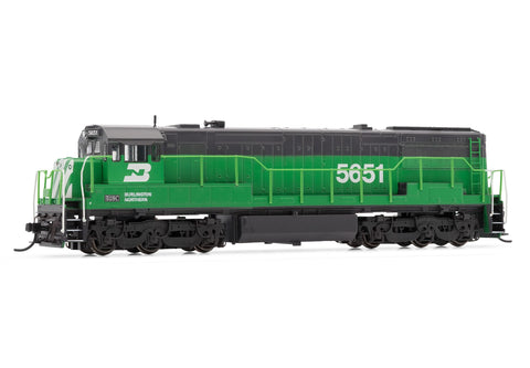 Arnold HN2316 N Burlington Northern U28C GE Diesel Locomotive DCC Ready #5651