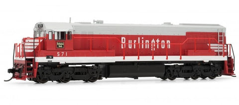 Arnold HN2311 N Chicago Burlington & Quincy GE Diesel Locomotive DCC Ready #571