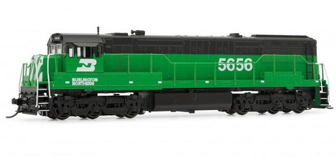 Arnold HN2315 N Burlington Northern U28C GE Diesel Locomotive DCC Ready #5656