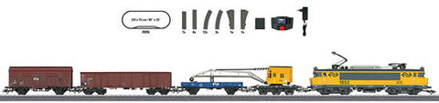 "Marklin 29256 HO ""Dutch Construction Train"" Digital Starter Set 230 Volts"