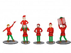 Lionel 6-83185 O The Polar Express Elves Figure Pack (Set of 6)