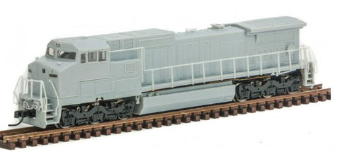 Atlas 40002687 N Undecorated GE Dash 8-40CW Diesel Engine (Conrail Style)