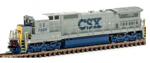 Atlas 40002729 N CSX GE Dash 8-40C Diesel Engine with DCC #7588