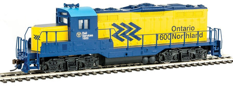 Walthers 931-456 HO Ontario Northland EMD GP9M - Standard DC - RTR #1600