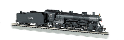 Bachmann 52803 HO Santa Fe 4-6-2 Light Pacific - DCC Sound #1385