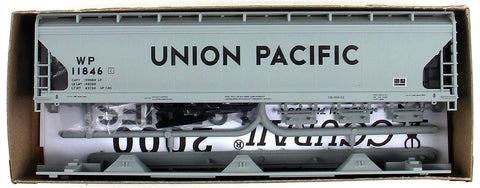 Accurail 2106 HO Union Pacific/Western Pacific ACF 3-Bay Covered Hopper #11846